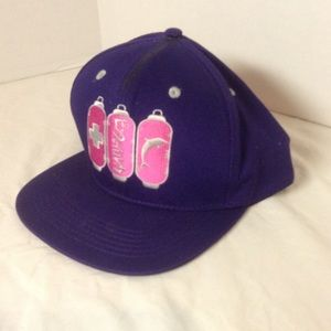Pink Dolphin baseball cap